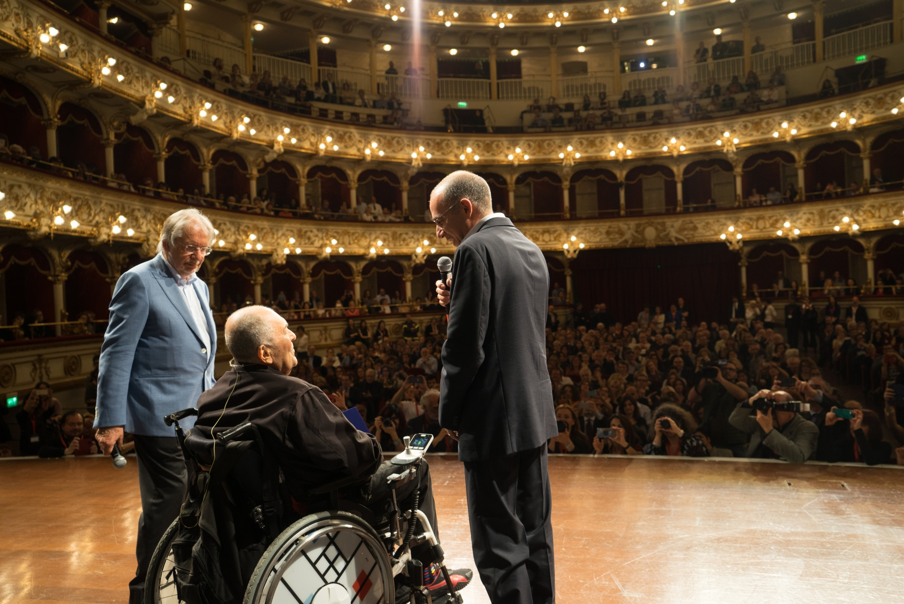 Felice Laudadio, Bernardo Bertolucci, Giuseppe Tornatore