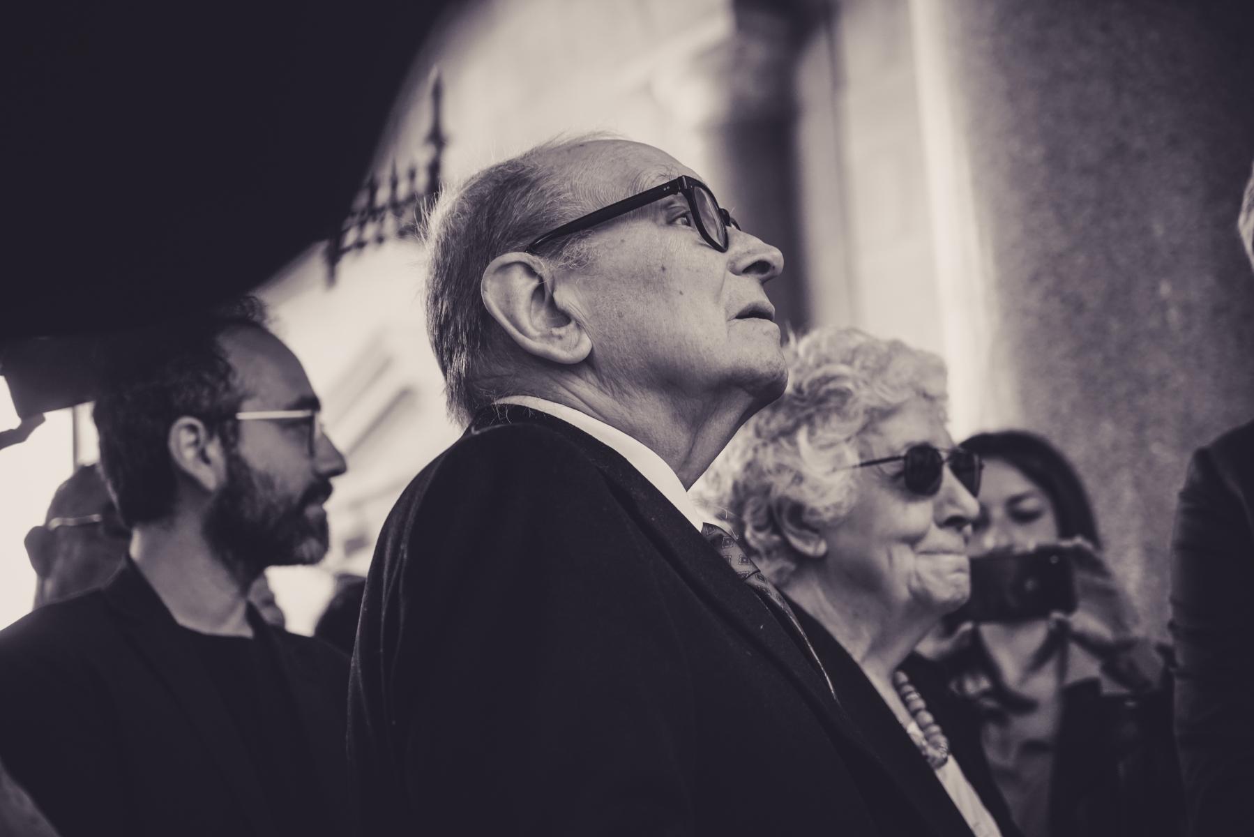 Ennio Morricone & wife