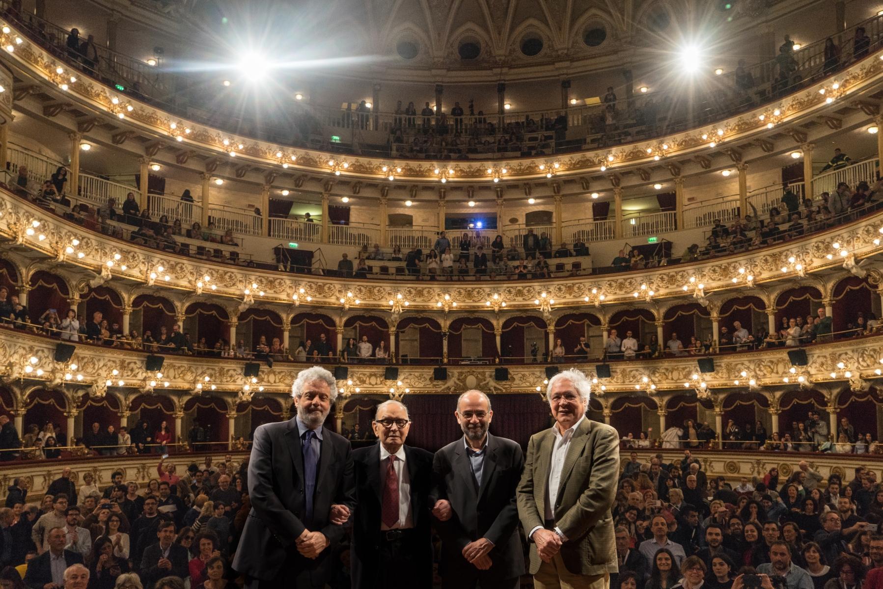Four Oscar Winners : Piovani, Morricone, Tornatore, Quaranta